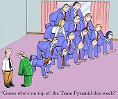 pic of guess  - Cartoon of business team - JPG