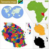 Administrative division of the United Republic of Tanzania