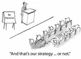 image of seminar  - Cartoon of keynote speaker in  - JPG