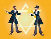 Background For Congratulation To The Holiday Of Lag Ba-omer