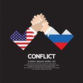 pic of wrestling  - USA VS Russia Arm - JPG