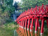 Bridge On Hoan Kiem Lake