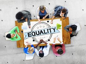 picture of moral  - Equality Balance Discrimination Equal Moral Concept - JPG