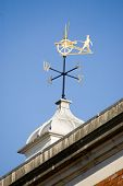 Historic Fusilier weather vane, Winchester