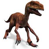 Dinosaur Deinonychus