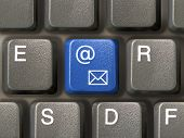 Keyboard (Closeup) With E-Mail Key