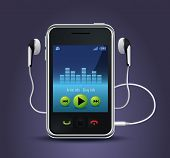 smart phone music player