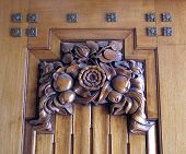 Art Deco Door Panel