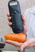 Test of carrot for a limit of nitrates