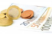 Постер, плакат: Euro Currency