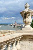 Hungarian Parliament On Danube, Budapest, Autumn
