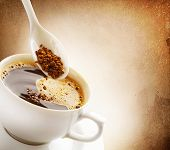 Instant Coffee.Vintage Styled