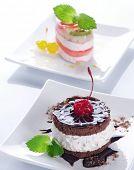 Cake.Selective focus