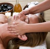 stock photo of spa massage  - Spa - JPG