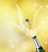 Champagne.Celebration concept