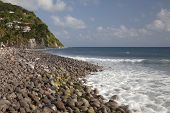 Dominica--Atlantic Side, South End