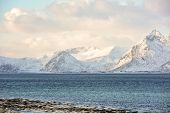 Gimsoystraumen, Lofoten Islands, Norway poster