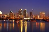 After Sunset,San Diego Skylines