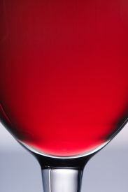 picture of red wine  - the close up of the red wine glass - JPG
