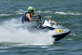 Jet Ski Driver Dragan Zaric In Race