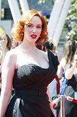 LOS ANGELES - 21 de agosto: Christina Hendricks na 62 Primetime Creative Arts Emmy Awards o não