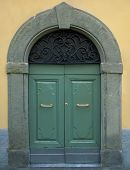 Traditional Wooden Italian Door
