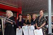 LOS ANGELES - AUG 11: Jane Wiedlin, The Go-Gos bei der Zeremonie für die Go-Go-Stern auf der Hollywo