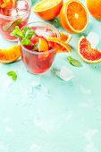Blood Orange Mint Mojito poster