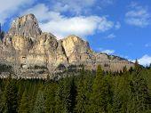 Cliffs Of Castle Mountain