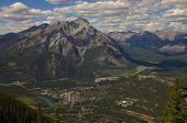 Bird's Eye View, Town Of Banff