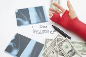 Dear Insurance... Cost Of Healthcare Concept
