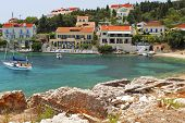 Fiscardo traditional village at Kefalonia
