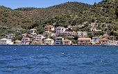 Traditional houses in Ithaki, Greece
