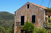 Greek traditional house at Kefalonia