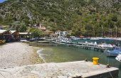Fishing village of Frikes at Ithaki island