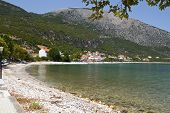 Fishing village of Poros at Kefalonia island