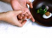 Self Hand Massage As Part Of Alternative Self Treatment