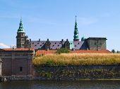 pic of hamlet  - Kronborg Castle of Hamlet by William Shakespeare Elsinore Helsingor Denmark  - JPG