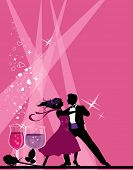 pic of ballroom dancing  - Ballroom dancers - JPG