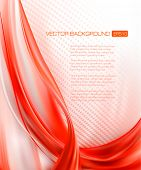 Abstract Elegant Red Background. Vector illustration.