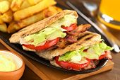 BLT Pita Sandwich