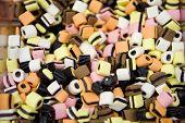 Multi Colored Licorice Candy