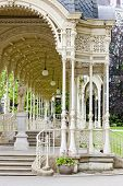 Sadova Colonnade, Karlovy Vary (Carlsbad), Czech Republic