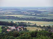 Blick von waldenburg