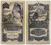 Old Austrian Money