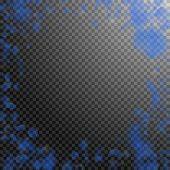 Dark Blue Flower Petals Falling Down. Worthy Romantic Flowers Vignette. Flying Petal On Transparent  poster