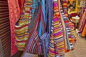 Bags At An Oriental Market