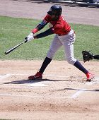 Lehigh Valley Ironpigs batter Dominic Brown