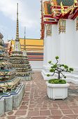 Pavilions And Chedis, Called Phra Chedi Rai, Which Contain The Ashes Of Members Of The Royal Family, poster