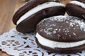 Three Whoopie Pies Or Moon Pies